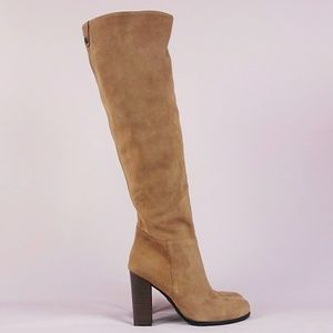 Sam Edelman Suede Victoria Tall Slouch Boot sz 7.5
